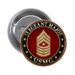 U.S. Flottor: Sergeant Ha som huvudämne (USMC SgtM Knapp Med Nål