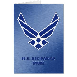 U.S. Flygvapenmammakort Hälsningskort