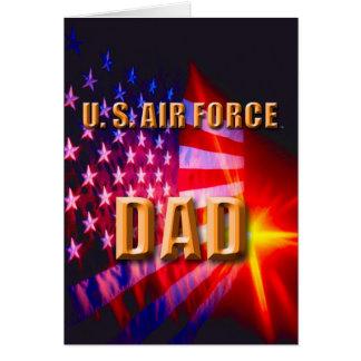 U.S. Flygvapenpappakort Hälsningskort
