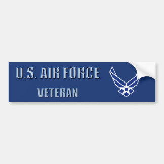 U.S. Flygvapenveteranbildekal Bildekal