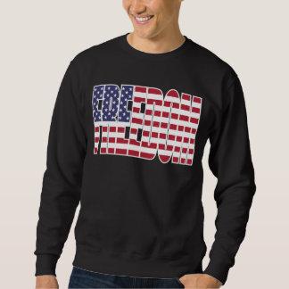 U.S. Frihetsflagga Lång Ärmad Tröja