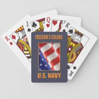 U.S. Marinklassiker som leker kort Kortlek