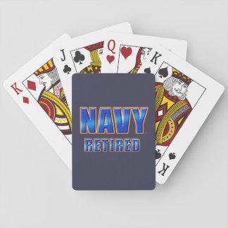 U.S. Pensionerad klassiker för marin som leker Spelkort