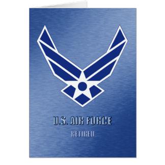U.S. Pensionerat kort för flygvapen