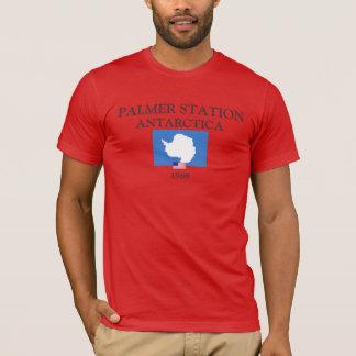U.S. - Skjorta för Palmer Antarcticstation T-shirt