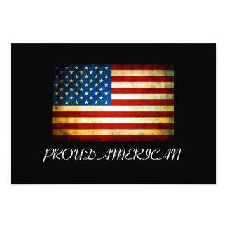 U.S. Vintageflagga Fotografier