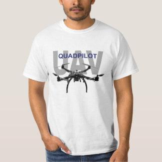 UAV Quadpilot pilot- Quadcopter T Shirts