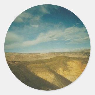 Ubehebe Krater Death Valley Runt Klistermärke