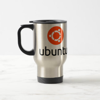 Ubuntu Linuxlogotyp Rostfritt Stål Resemugg