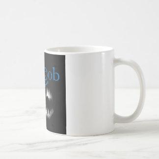 Udda egennamnblåttlogotyp kaffemugg
