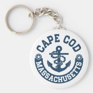 Uddtorsk Massachusetts Rund Nyckelring