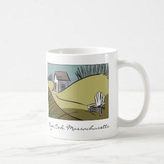 Uddtorsk, sjösida för Massachusetts Sanddyner Kaffemugg