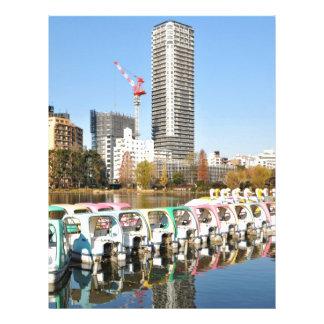 Ueno parkerar i Tokyo, Japan Brevhuvud