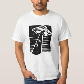 UFO - träsnitt Tee Shirts