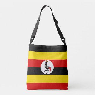 Uganda flagga axelväska