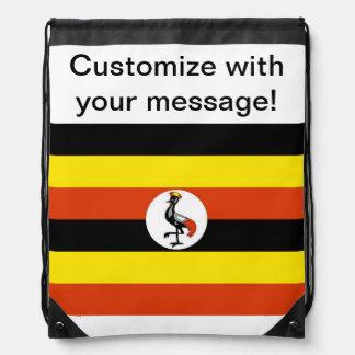 Uganda flagga gympapåse