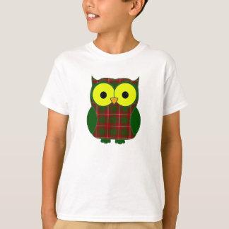 Uggla för Crawford Tartanpläd T-shirt