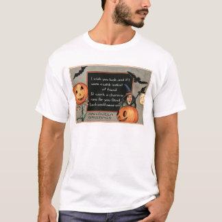 Uggla för fladdermöss för jack o lanternpumpahäxa t shirts