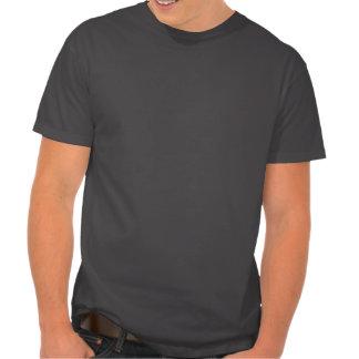 Uggla med mustasch och hatten tee shirt