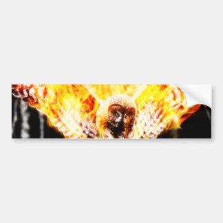 Uggla Phoenix Bildekal