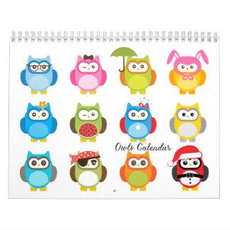 Ugglakalender Kalender