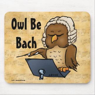 Ugglan är Bach den roliga ugglatecknaden Musmatta