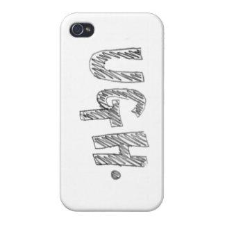 """""""Ugh"""" iphone case iPhone 4 Skal"""