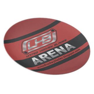 UHB-Arenalogotyp Tallrikar