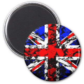 Uk-flagga Magnet