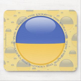 Ukraina bubblar flagga musmattor