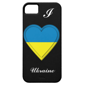 Ukraina flagga iPhone 5 skal