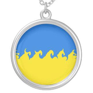 Ukraina Gnarly flagga Anpassningsbar Halsband