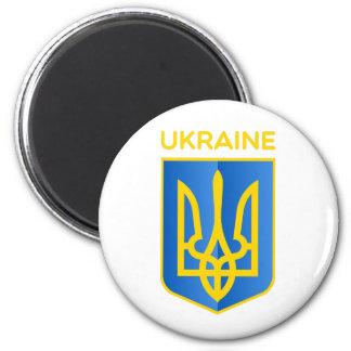 Ukraina vapensköld magnet