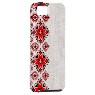 Ukrainsk broderi iPhone 5 Case-Mate skal