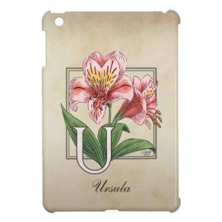 Ulster Mary blommaMonogram iPad Mini Skydd