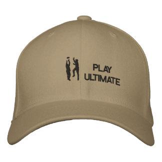 Ultimat Frisbee sydd hatt Broderad Keps