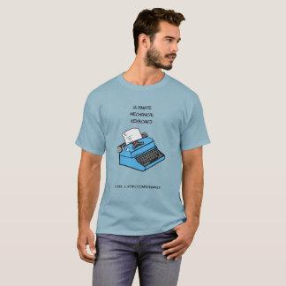 Ultimat mekaniskt tangentbord - skrivmaskin t-shirts