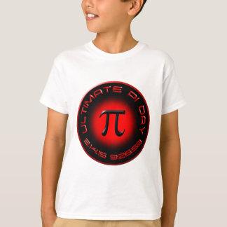 Ultimat Pi-dag 2015 3.14.15 9:26: 53 (rött) Tee Shirt