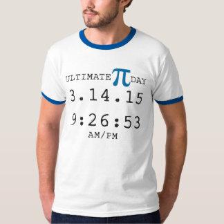 Ultimat t-skjorta 2015 för Pi-dag 3.14.15 9:26: 53 T-shirt