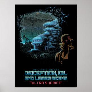 Ultra sheriff - DOLB spårar affischen Poster