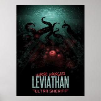 Ultra sheriff - Leviathanaffisch Poster