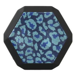 Ultrasuede för fläckar för AquablåttLeopard Look Svart Bluetooth Högtalare