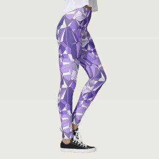 Ultraviolett damasker för prismamönstertryck leggings
