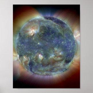 Ultraviolett solNASA för ytterlighet Poster