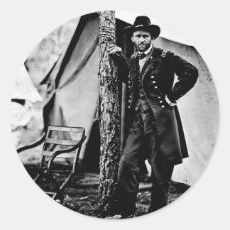 Ulysses S. Bevilja Runt Klistermärke