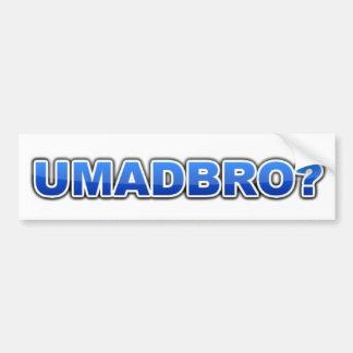 UMADBRO-bildekal Bildekal