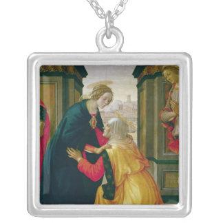 Umgänget, 1491 silverpläterat halsband