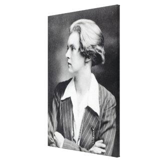 Una Vincenzo, dam Troubridge, c.1915 Canvastryck