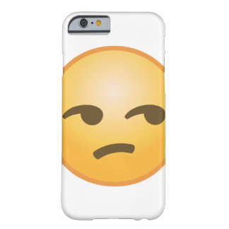 Unamused Emoji Barely There iPhone 6 Fodral