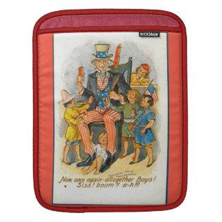 Uncle Sam och ungarna! Sleeve För iPads